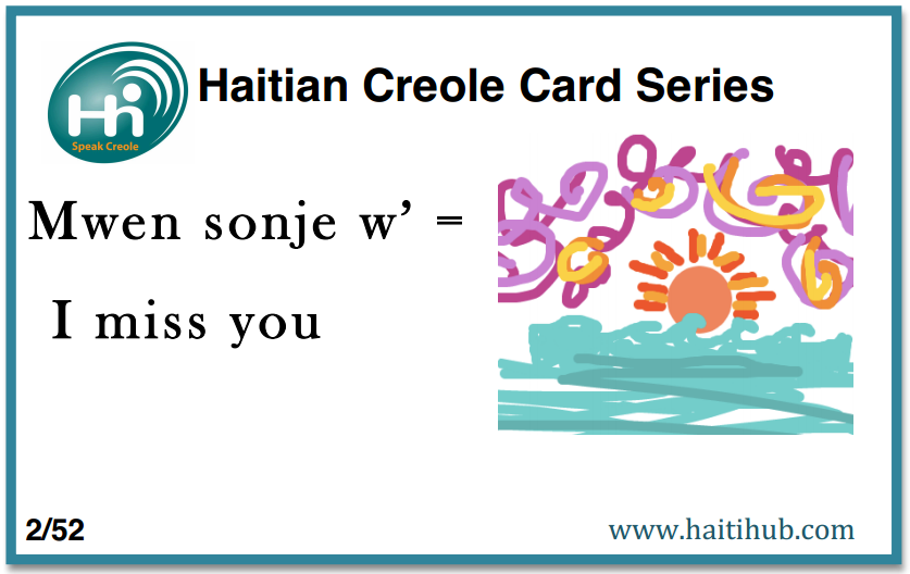 Learn Haitian Creole Free | Haiti Hub